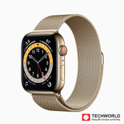 Apple Watch Series 6 44mm (LTE) Thép Milan