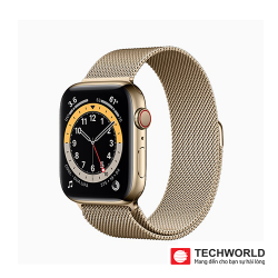 Apple Watch Series 6 40mm (LTE) Thép Milan